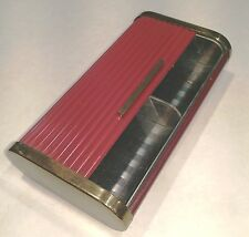 "Vintage ""Park Sherman"" Roll-Top Cigarette Case, Brass and Bakelite"