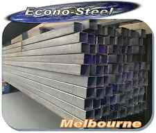 STEEL RHS 25x25x1.6mm, 6.5mt long Galvanised . mulit use. See below for more ..