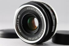 Near MINT Voigtlander COLOR-SKOPAR 35mm F2.5 MC for Leica L39 LTM from Japan1549