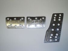 67-68 Mustang Shelby Pedal Covers (for Manual Cars)