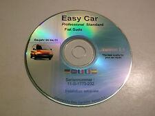 CD EASY CAR PROFESSIONAL STANDARD FIAT SCUDO PROGRAMMA CON ESPLOSI L-5