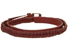Nixon Bent Slim Belt (S) Oxblood C1978216-01