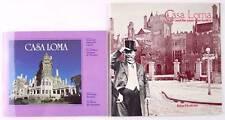 Lot of 2 Casa Loma Castle Museum Souvenir Booklets Toronto Canada, Mint!