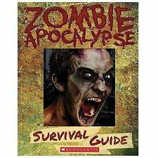 NEW Zombie Apocalypse Survival Guide 2014 Hardcover (10 and up) Scholastic