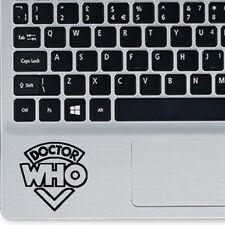 Doctor Who Vinyl Sticker Decal for Macbook Trackpad Laptop Yeti Cup Decor Helmet