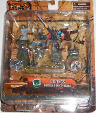 UNIMAX FORCES OF VALOR Historical Legends VIKINGS Raiders & Discoverers Set of 4