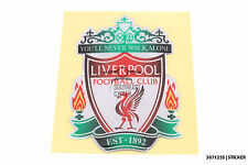 Reflective domed Liverpool football club decal/sticker for motorbike,laptop