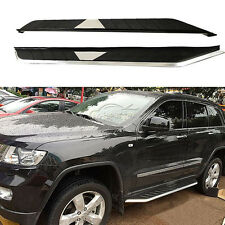 2x Deluxe Running Boards Side Step Nerf Bars Fit For 2011-14 Jeep Grand Cherokee