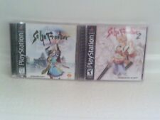 SaGa Frontier 1 & 2 for Sony PlayStation 1 PS1 complete