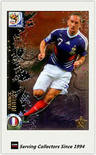 #106 Ribery Star Metalized 2010 Panini World Cup Soccer Trading Card