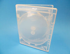 NEW! 25 VIVA ELITE Blu-ray CLEAR 3-Disc Cases - Holds 3 discs Triple