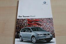 132914) VW Touran Goal Prospekt 01/2006