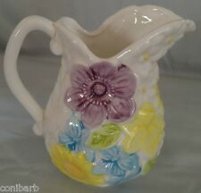 RELPO SPRING FLOWERS CREAMER DAISY ROSE RELPO 6453 CREAM PITCHER