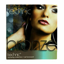 Bronzing Gift Set Technic Bronze Collection Make Up Kit Contour Brush Bronzer