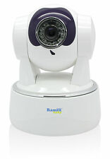 Monitor Wi-Fi Video Baby CCTV Camera View on Phone Tablet Ramili RV800