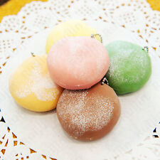 1Pc Squeeze Wagashi Daifuku Mochi Stress Squishy Scented Stretchy Toy Ball Chain