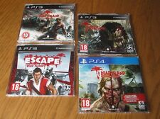 Dead Island PROMO COMPLETE SET ~ PS3 + PS4 (4 x Full Games) & Definitive Edition