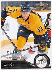 2014-15 Upper Deck Exclusives Parallel #359 Colin WILSON
