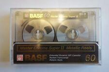 RARE BASF MASTER CHROM SUPER II 60 METAL REEL compact cassette sealed, Germany