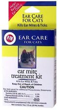 Miracle Care R7M Ear Mite Treatment Kit for Cats 2 oz