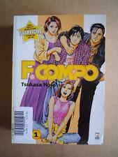 F. COMPO Tsukasa Hojo Vol. 1 edizione Star Comics [G371A]
