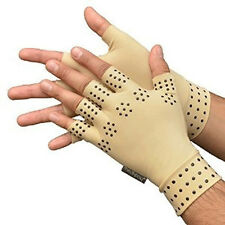1pair Hand Pain Magnetic Anti Arthritis Health Compression Therapy Gloves