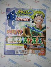 Anime Comic Manga Naruto Becharinco Gashapon Toy Machine Paper Card Bandai Japan