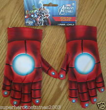 The Avengers Iron Man Child Gloves Marvel Comics Brand New