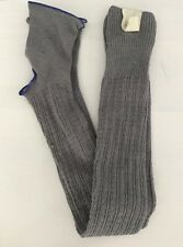 NWT Free People Gray Confetti Over The Knee OTK Footless Socks Leg Warmers