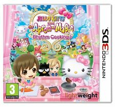 Hello kitty et le tablier de magie rhythm cuisson pour uk/eu 3DS (new & sealed)