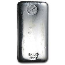 1 Kilo Perth Mint .999 Fine Silver Bar Lot 4756