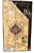 Wizarding World Harry Potter Marauders Map w/ Wand Appearing Footprints & Sound