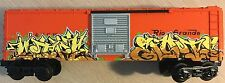 Lionel O Scale Rio Grande Train Car W/ Custom Freight Graffiti