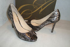 Enzo Angiolini Womens NWB Maiven Pewter Heels Shoes 6.5 MED NEW