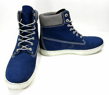 Timberland Shoes 6 Inch Premium Navy Blue Boots Size 10