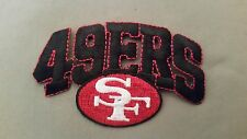 NFL san francisco 49ers embroidered patch