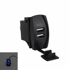 USB Charger for Polaris UTV RZR RZR4 Ranger XP 1000 900 800 Crew 2015 2016a Blue