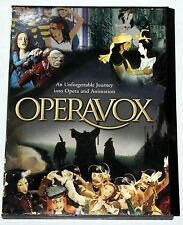 OPERAVOX An Unforgettable Journey into Opera and Animation DVD