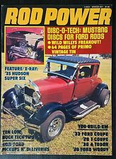 Rod Builder Winter 1977 Willys - 1935 Hudson - 1928 Ford Woody - 1933 Ford Coupe