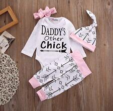 Baby Babyset Anzug Hose Shirt Pulli Pullover Body Mütze Set weiß rosa 68 74