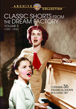 Classic Shorts from the Dream Factory, Vol. 2 (1929-1946 (2013, DVD NIEUW) DVD-R