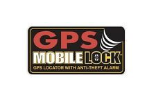 GPS Mobile Lock Decal ANTI-THEFT -  Car/Truck/Home/ATV/UTV