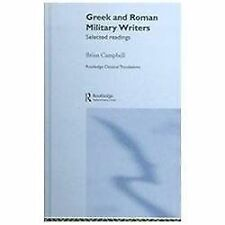 Greek and Roman Military Writers : Selected Readings by Andrew Smith and...