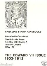 """Canadian Stamp Handbooks: Edward VII Issue, 1903-1912"": by Michael Milos"