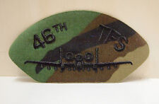 46th TFS AIR FORCE MILITARY PATCHES USAF PATCH NEW MEMORABILIA AIR FORCE PILOT