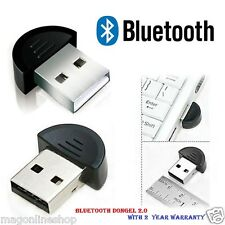 Enter™ mini USB 2.0 Bluetooth Dongle PLUG n PLAY + 2Year Manufacturer Warranty