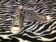 Converse Chuck Taylor All Star High Top. Denim Gray. M  8.5 W 10.5