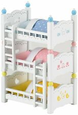 Sylvanian Families ~ Triple Bunk Beds Set