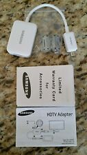 Samsung Galaxy HDTV Smart-Adapter Micro USB 2.0 MHL to HDMI HDTV, ET-H10FAU NU O