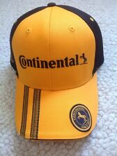 Auto Racing Continental Tire Embroidered Baseball Cap Hat One Size And Lanyard